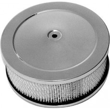 "10"" X 2"" DOME STYLE WASHABLE ELEMENT AIR CLEANER SET - CHROME"