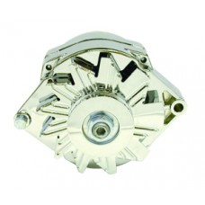 Chrome GM 1955-up Alternator - 100 Amps
