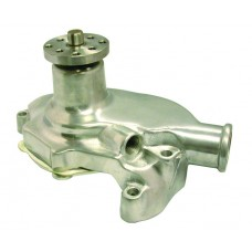 Aluminum 1955-68 SB Chevy Short Water Pump - Smooth POLISHED