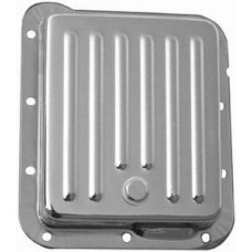 Chrome Ford C-4 Transmission Pan - Finned
