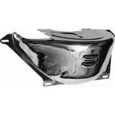 Chrome GM Turbo 350 & 400 Flywheel Dust Cover - 2 7/8