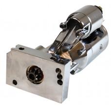 Chrome Alum GM SBC & BBC Gear Reduction Starter - 1.6 HP (Fits 153 & 168 tooth flywheel)