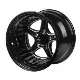 STP002-151000-BK Street Pro ll Convo Wheel Black 15x10 Holden Chevrolet Bolt Circle 5 x 4.75' (-25) 4.50' Back Space
